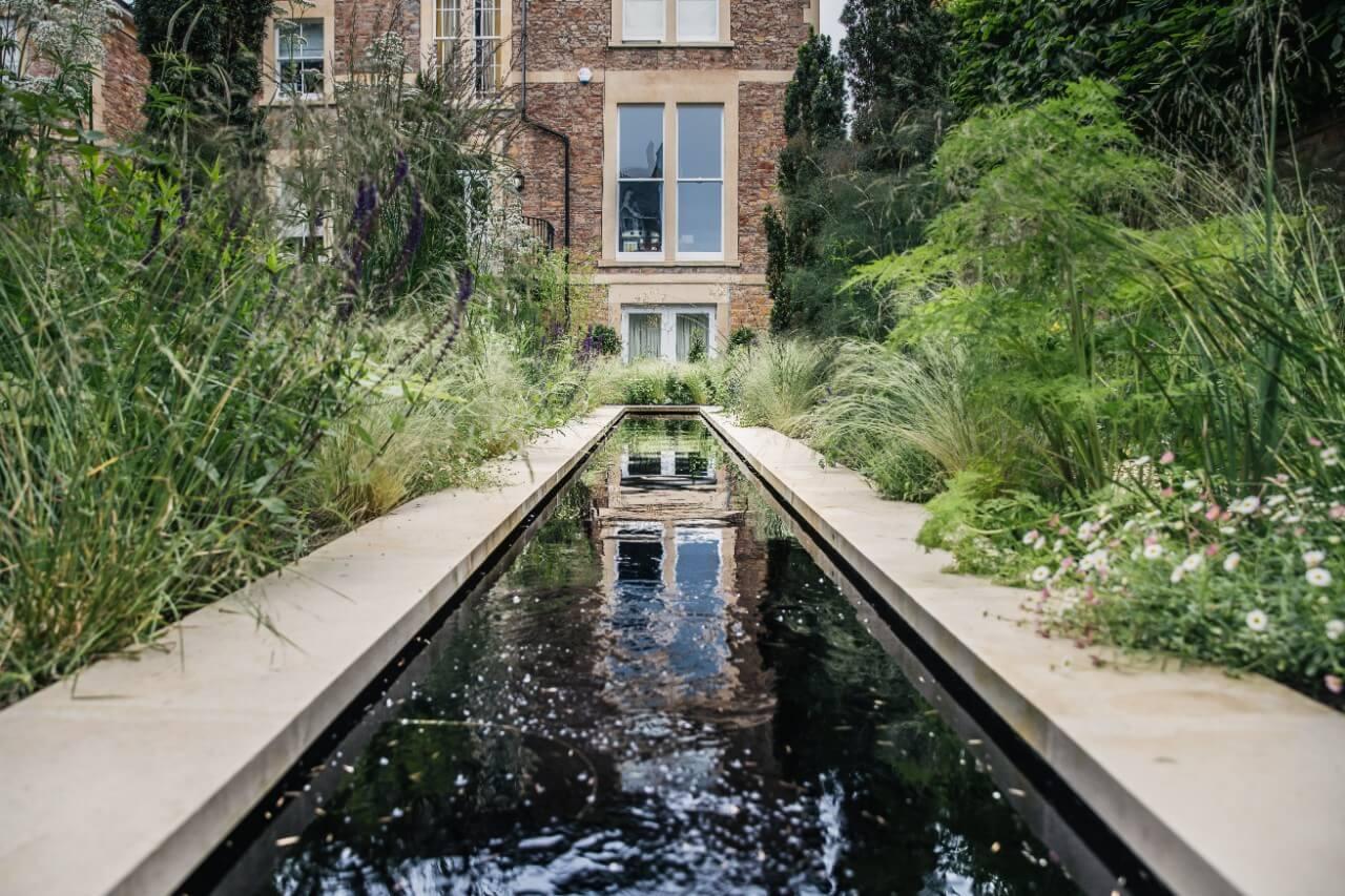 NATURALISTIC RILL GARDEN - Artisan Landscapes Bristol